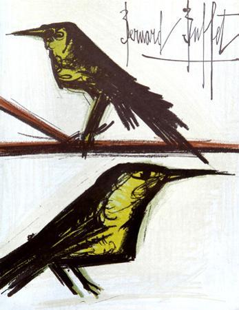 Birds by Bernard Buffet