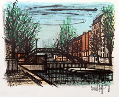 Canal St. Martin by Bernard Buffet