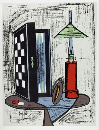 Game Table by Bernard Buffet