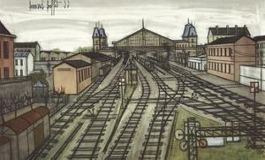La Gare by Bernard Buffet