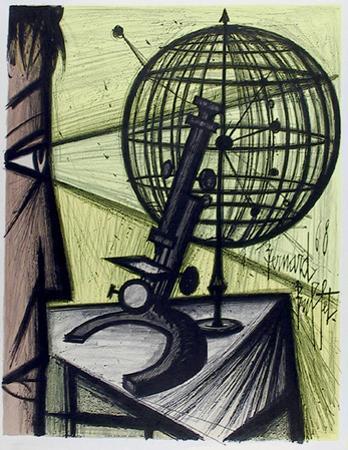 Microscope by Bernard Buffet