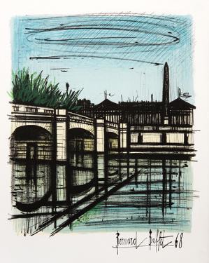 Place de la Concorde by Bernard Buffet