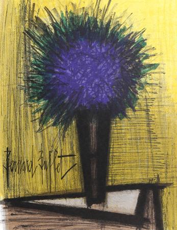 Purple Flower by Bernard Buffet