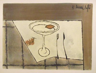 Table Setting by Bernard Buffet