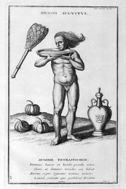 A Representation of August, 1757 by Bernard De Montfaucon