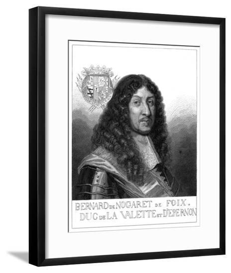 Bernard Duc D'Epernon--Framed Giclee Print