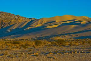 California. Death Valley National Park, South Eureka Dunes Road Scenery, Last Chance Mountain Range by Bernard Friel