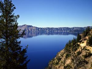 Crater Lake in Crater Lake National Park, Oregon, USA by Bernard Friel