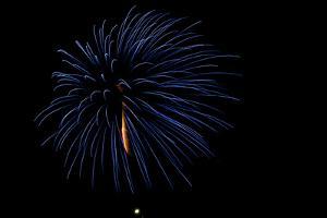 Minnesota, Mendota Heights, Fireworks, Aerial Displays by Bernard Friel