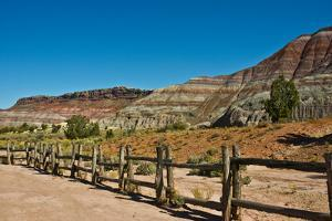 USA, Utah, Paria. View along trail to ghost town by Bernard Friel