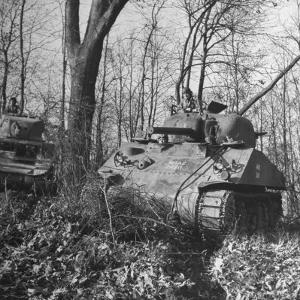 M4A2 Tanks Tested at Alberdeen Proving Ground by Bernard Hoffman