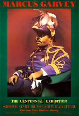 Marcus Garvey by Bernard Hoyes