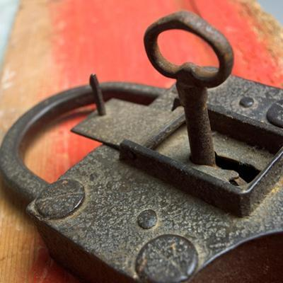 Old Key and Lock