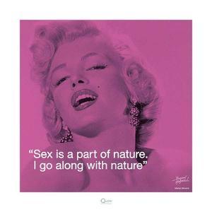 Marilyn Monroe – Nature by Bernard of Hollywood