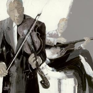 Le Violon by Bernard Ott