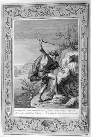 Alcyone and Ceyx Transformed into Birds, 1733 by Bernard Picart