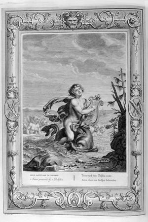 Arion Saved by a Dolphin, 1733 by Bernard Picart