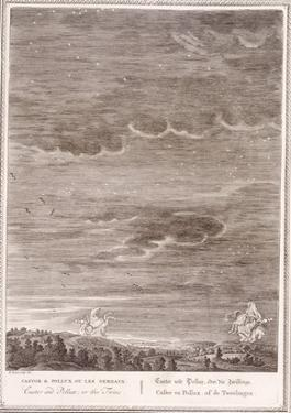 Castor and Pollux, 1731 (Engraving) by Bernard Picart