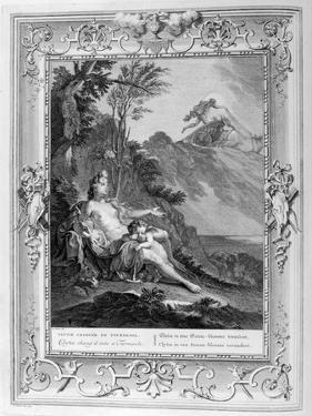 Clytia Turned into a Turnesole, 1733 by Bernard Picart