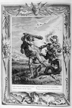 Hercules Fights the Lernian Hydra, 1733 by Bernard Picart