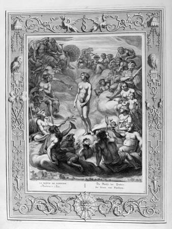 Pandora's Box, 1733 by Bernard Picart