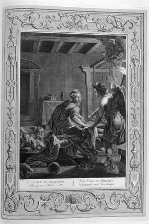 Penelope at Her Loom, 1733 by Bernard Picart