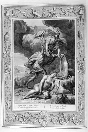 Perseus Cuts Off Medusa's Head, 1733 by Bernard Picart