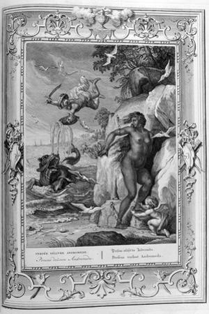 Perseus Delivers Andromeda from the Sea Monster, 1733 by Bernard Picart