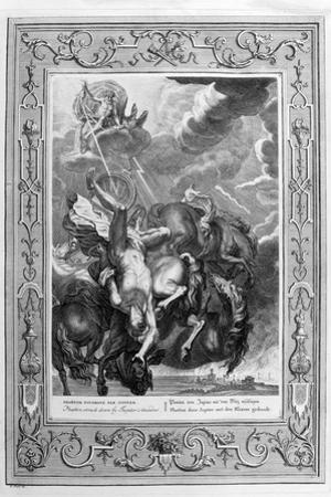 Phaeton Struck Down by Jupiter's Thunderbolt, 1733 by Bernard Picart