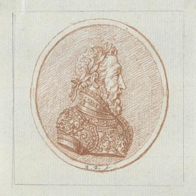 Portrait of King Henry II of France, Second Half of the 17th C by Bernard Picart