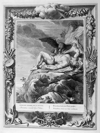 Prometheus Tortured by a Vulture, 1733 by Bernard Picart