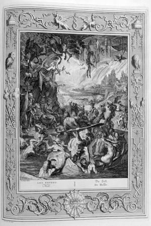 Scene of Hell, 1733 by Bernard Picart