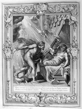Semele Is Consumed by Jupiter's Fire, 1733 by Bernard Picart