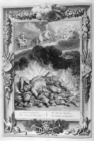 The Death of Hercules, 1733 by Bernard Picart