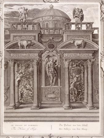 The House of Sleep, 1731 (Engraving) by Bernard Picart