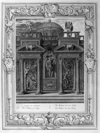 The House of Sleep, 1733 by Bernard Picart