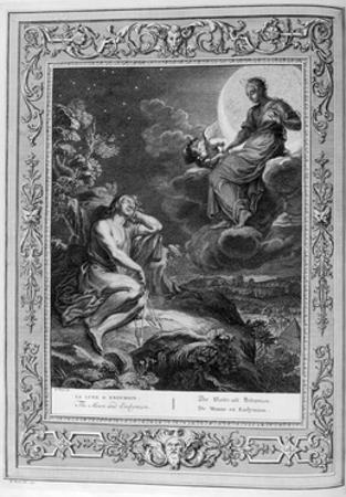 The Moon and Endymion, 1733 by Bernard Picart
