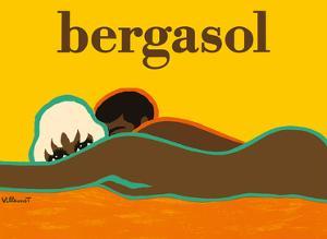 Bergasol - Italian Suntan Cream by Bernard Villemot