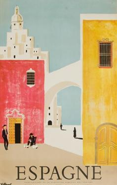 Espagne Poster by Bernard Villemot