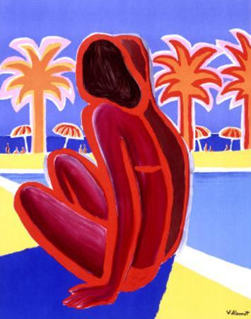 La Cote d'Azur by Bernard Villemot