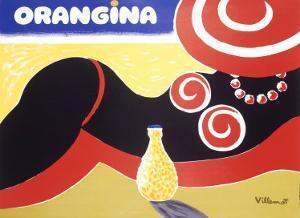 Orangina, Bikini by Bernard Villemot