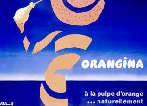 Orangina, Pulpe by Bernard Villemot