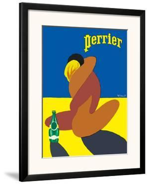 Perrier: Nude Lovers, c.1980 by Bernard Villemot