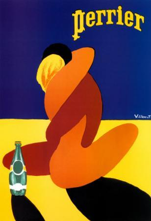 Perrier by Bernard Villemot