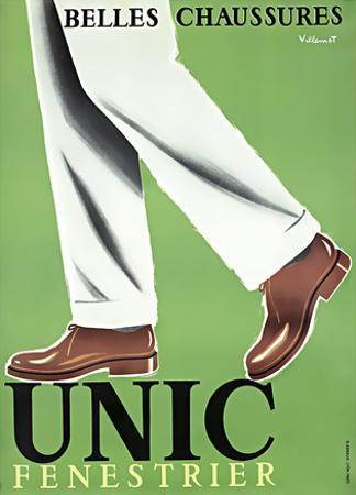 Unic / Fenestrier / Beautiful Shoes by Bernard Villemot