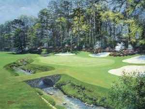 The 13th At Augusta, Azalea by Bernard Willington