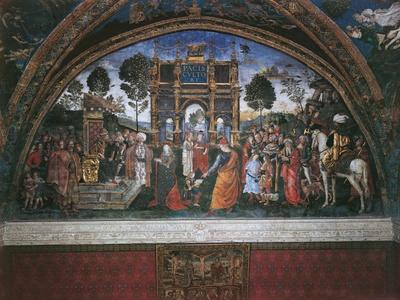 Dispute of St. Catherine (With Emperor Maximian)