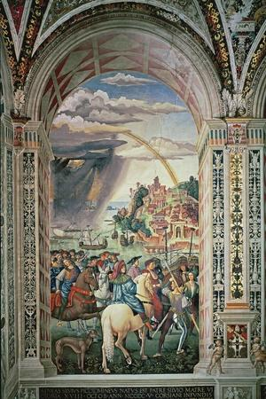 The Departure of Aeneas Silvius Piccolomini for Basel, C.1503-8
