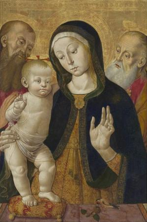 Madonna and Child with Two Hermit Saints