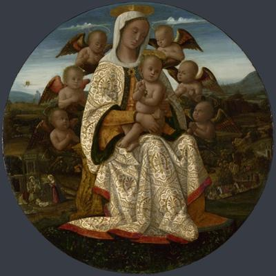 The Virgin and Child with Cherubs, C. 1500
